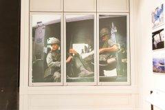 Window art at Cantigny War Musuem